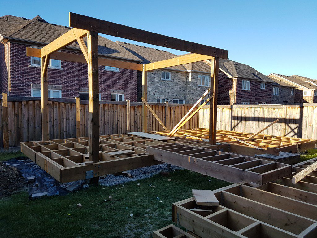 How To Build A Pergola On A Deck Video