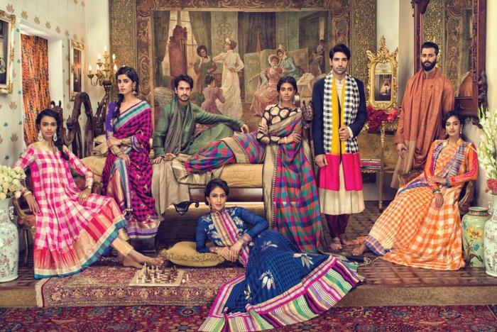 The 'Sari' Renaissance: Make in India inspires Manish Malhotra's 'Regal Threads'