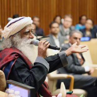 "Sadhguru Vasudev founder of Isha Vidhya says ""Yoga is not Indian"" at UN debate"