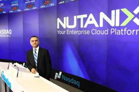 Nutanix Shares Rally in Trading Debut