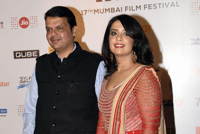 Indian Politician's wife Amruta Fadnavis to walk New York Fashion week