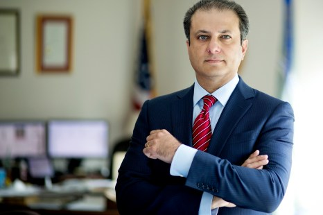 Did Preet Bharara send a warning after his firing?