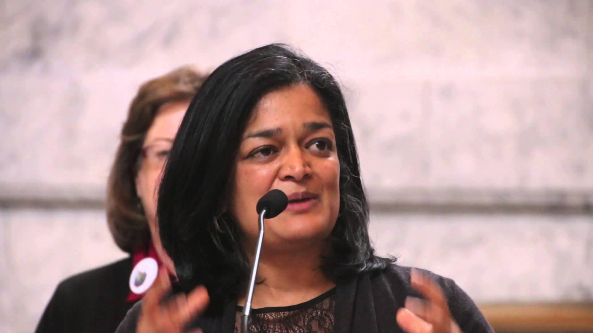 Seattle Rep. Pramila Jayapal introduces first House Bill
