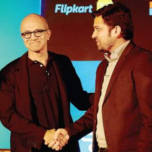 Microsoft teams up with Flipkart to gain control of India's Cloud Market