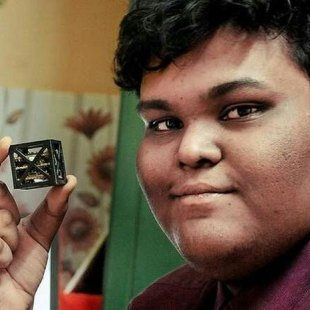 Teen in India has developed world's smallest satellite for NASA