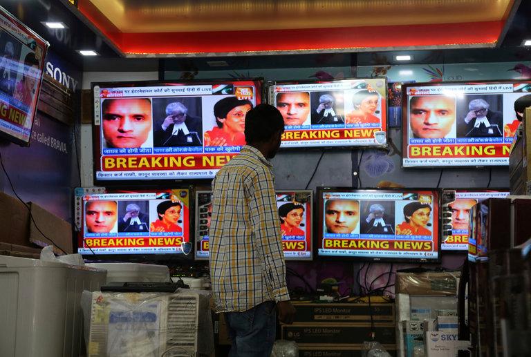 UN Court Orders Pakistan to halt execution of Kulbhushan Jadhav