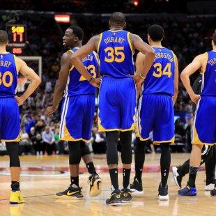 Golden State Warriors await next challenge after 8-0 postseason start