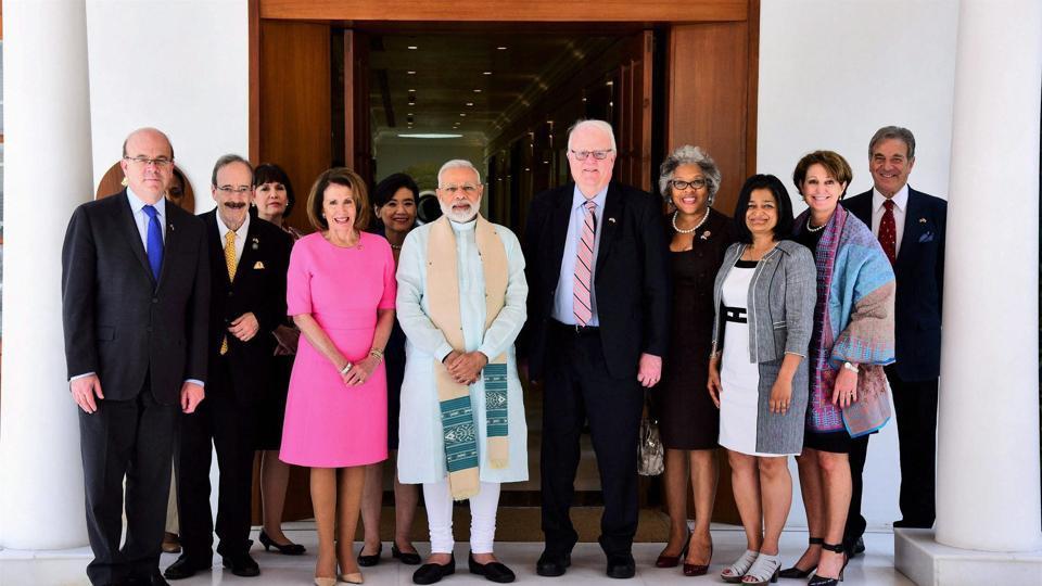 U.S. Congressional delegation discusses India Relations with Narendra Modi