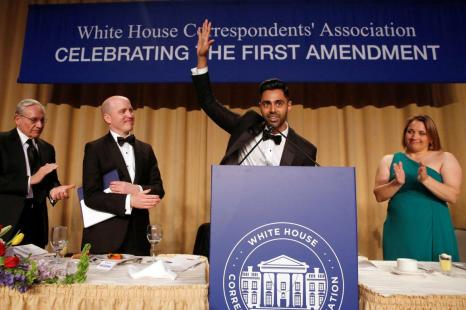 Hasan Minhaj's best moments from the White House Correspondents' Dinner