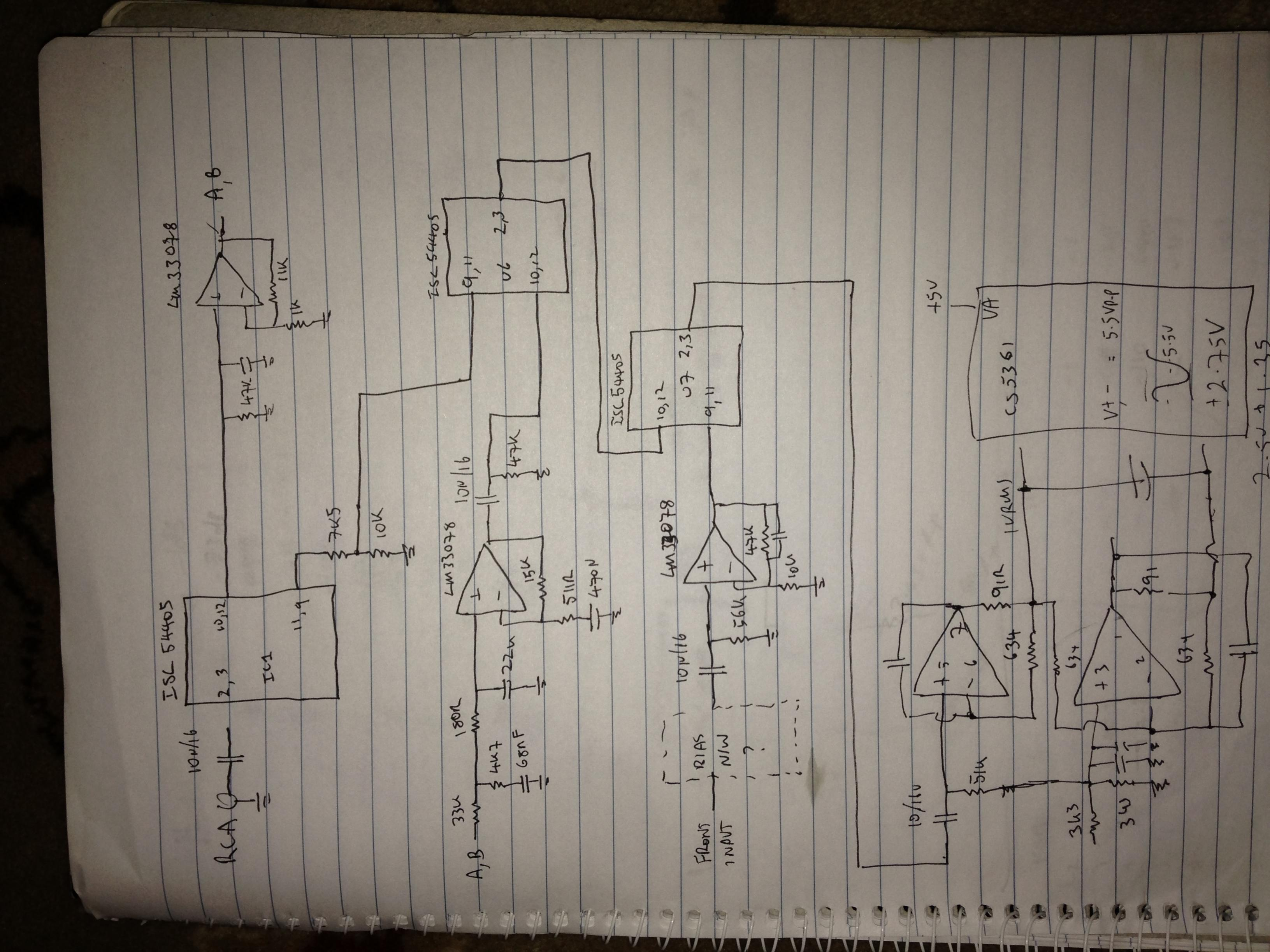 This Is The Power Supply Schematic Click On It For A Larger Version