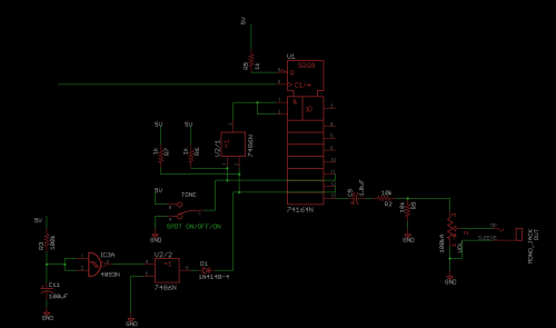 small resolution of the main noise generator for our circuit the basic circuit at play here is a linear feedback shift register lfsr a test circuit widely used in