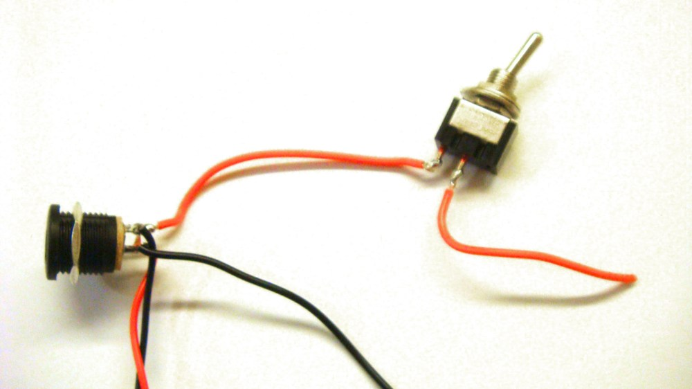 medium resolution of  center negative dc jack add switch