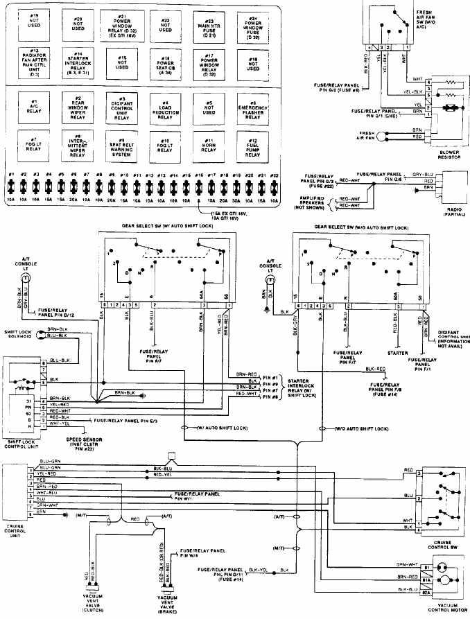 2008 volkswagen eos fuse box diagram