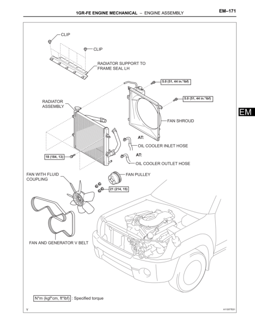small resolution of toyota 1gr fe engine diagram imageresizertool com 1hz toyota diesel engines toyota highlander starter location