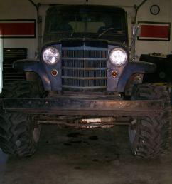 1950 jeep willys truck wiring harness [ 1024 x 768 Pixel ]