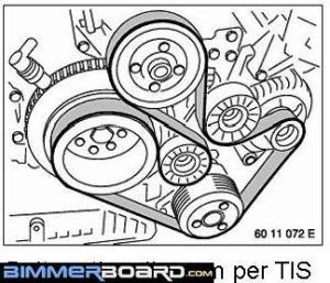 Power Steering Pump by dj330Ci | bmw | 3seriese46 | diys