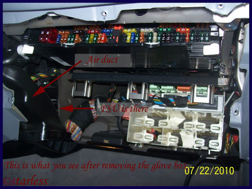 2011 Bmw Z3 Fuse Box Fsu Aka Blower Motor Resistor Replacement Pictorial