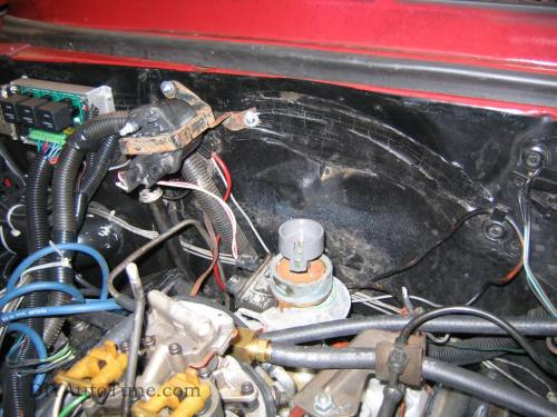 small resolution of also note that the coil bracket needs to be grounded bolting it to the engine is perfect in my case it s working fine bolted to the firewall with that as