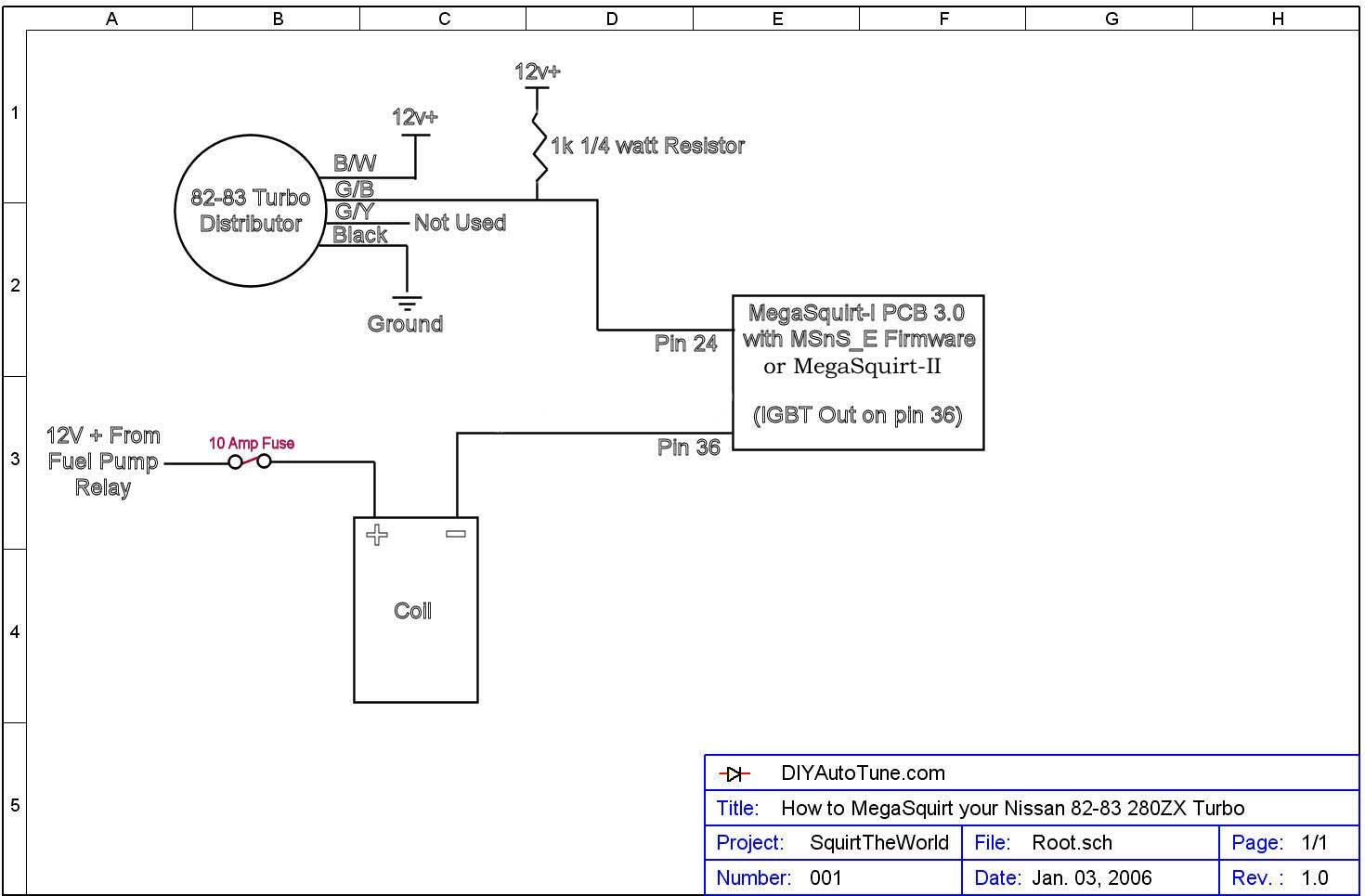 Swell 1981 280Zx Injector Wiring Diagram Basic Electronics Wiring Diagram Wiring 101 Tzicihahutechinfo