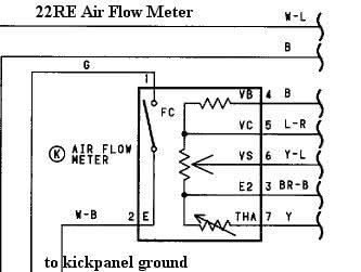 22RE Air Flow Meter?resize=333%2C251&ssl=1 z32 maf wiring diagram wiring diagram z32 maf wiring diagram at crackthecode.co