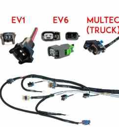 gm truck fuel injector wiring harness [ 1500 x 1500 Pixel ]