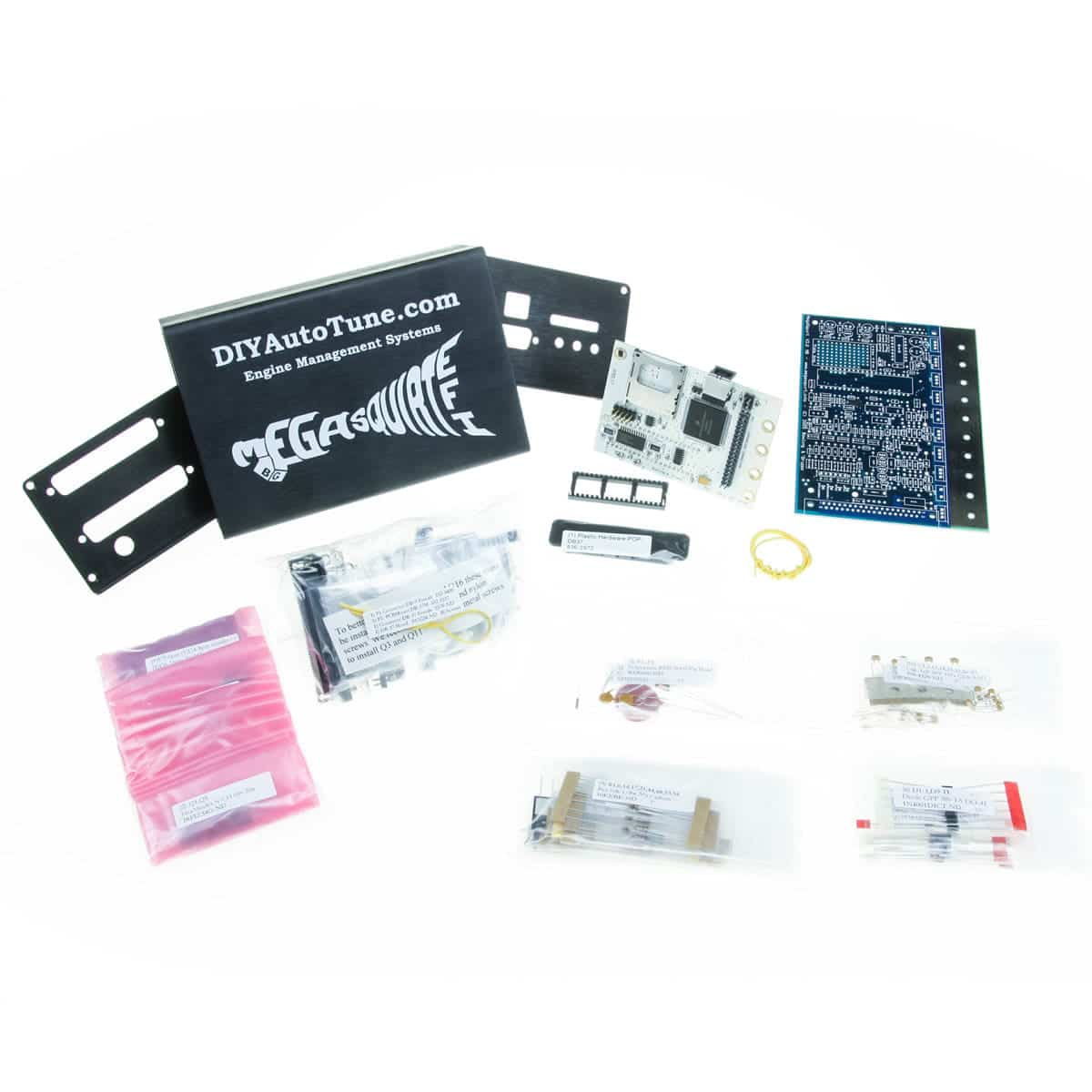 hight resolution of megasquirt iii with pcb v3 0 unassembled kit