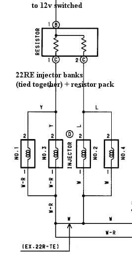 toyota wiring harness diagram 2002 chevy malibu engine how to megasquirt your 22re - diyautotune.com