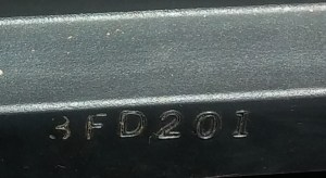 Date of manufacture Car battery