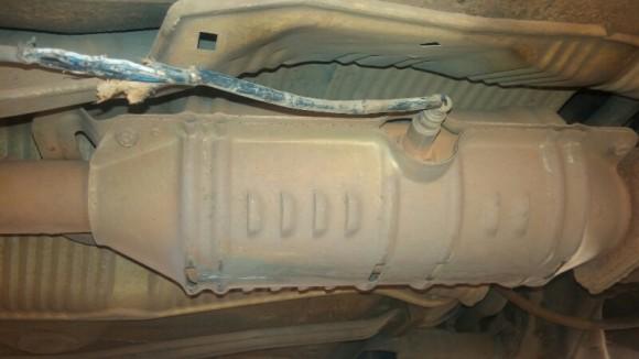 Replacement of Downstream (Bank1 Sensor 2) O2 Sensor on 2003