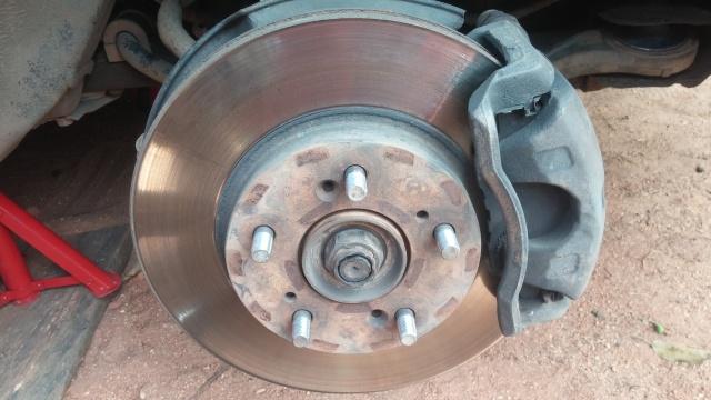 disc rotor change on 2003 Accord