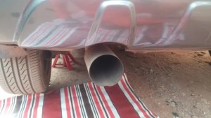exhaust rubbers