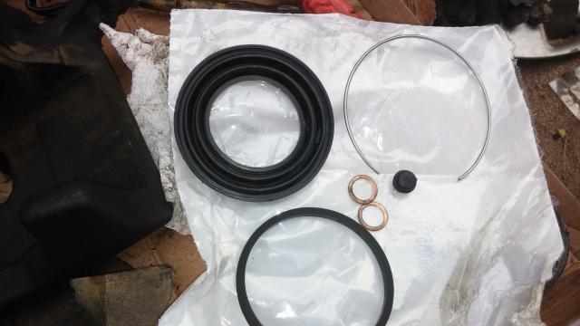 Brake calliper rebuild kit