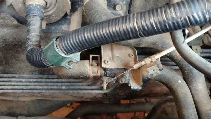 water valve on 2003 Accord