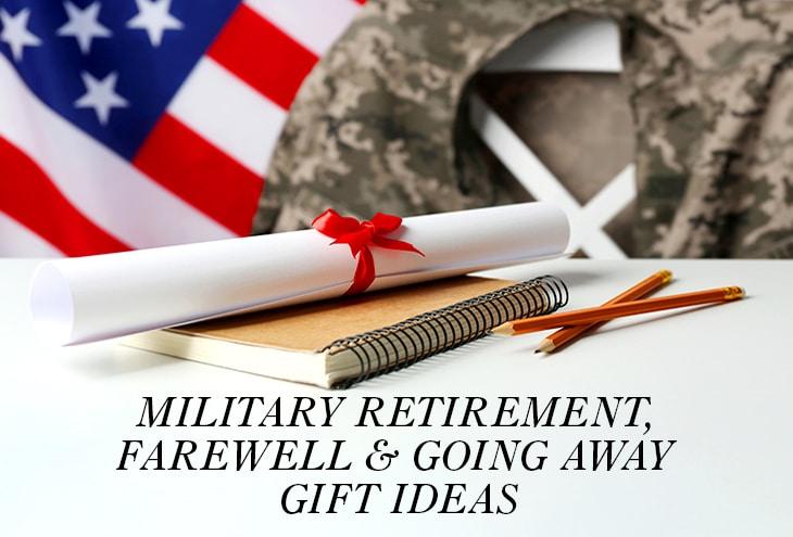 military retirement farewell going