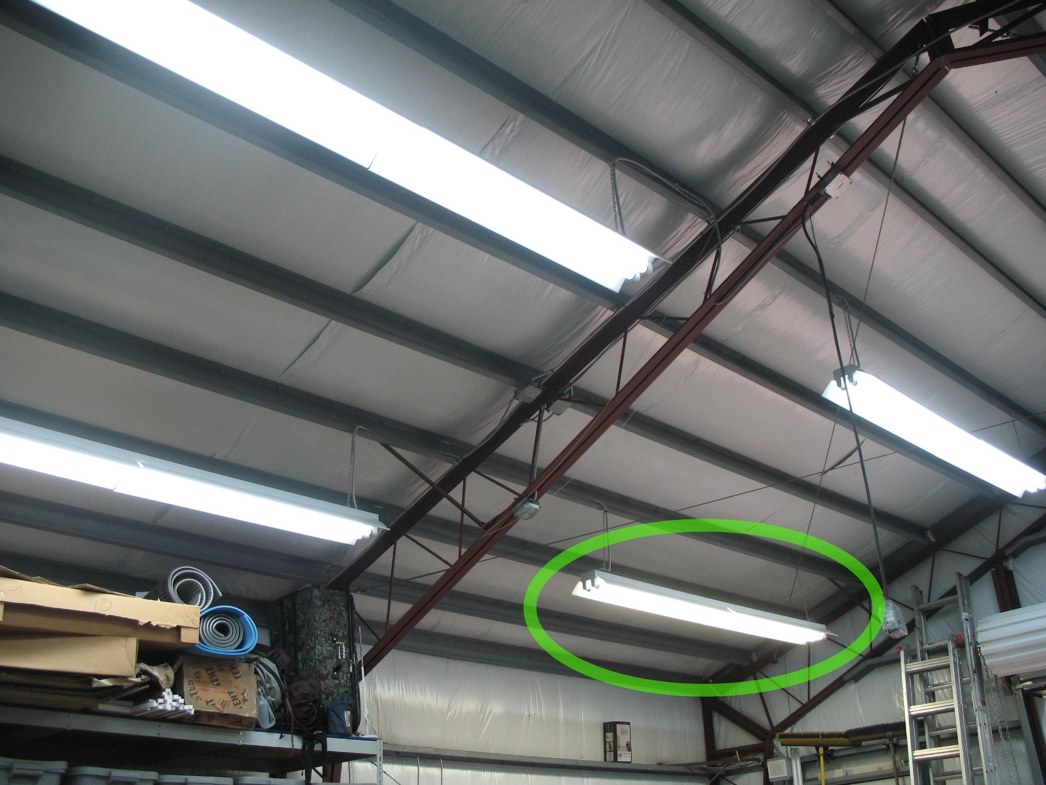 Replace Fluorescent Light Bulb