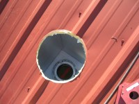 Stove Pipe Through Roof - Acpfoto