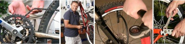 repair bicycle course