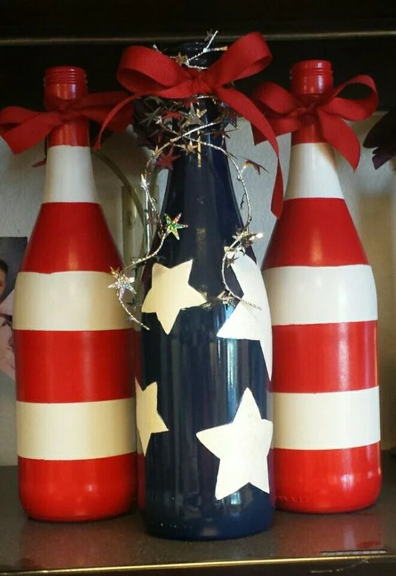 Wine Bottle Decor is one of the cutest and easiest DIYs you can do. Find out more about it!