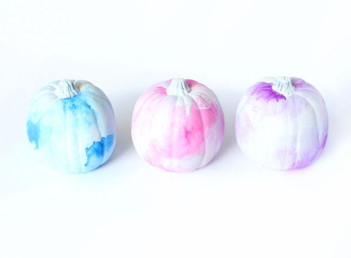 No Carve Pumpkin Decorating Ideas