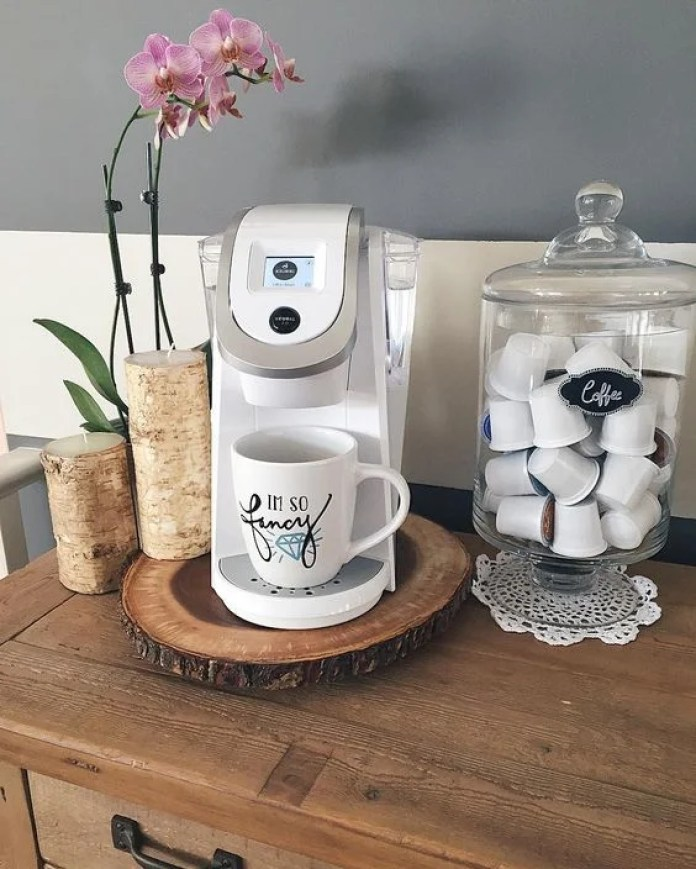 Easy DIY Coffee Bar