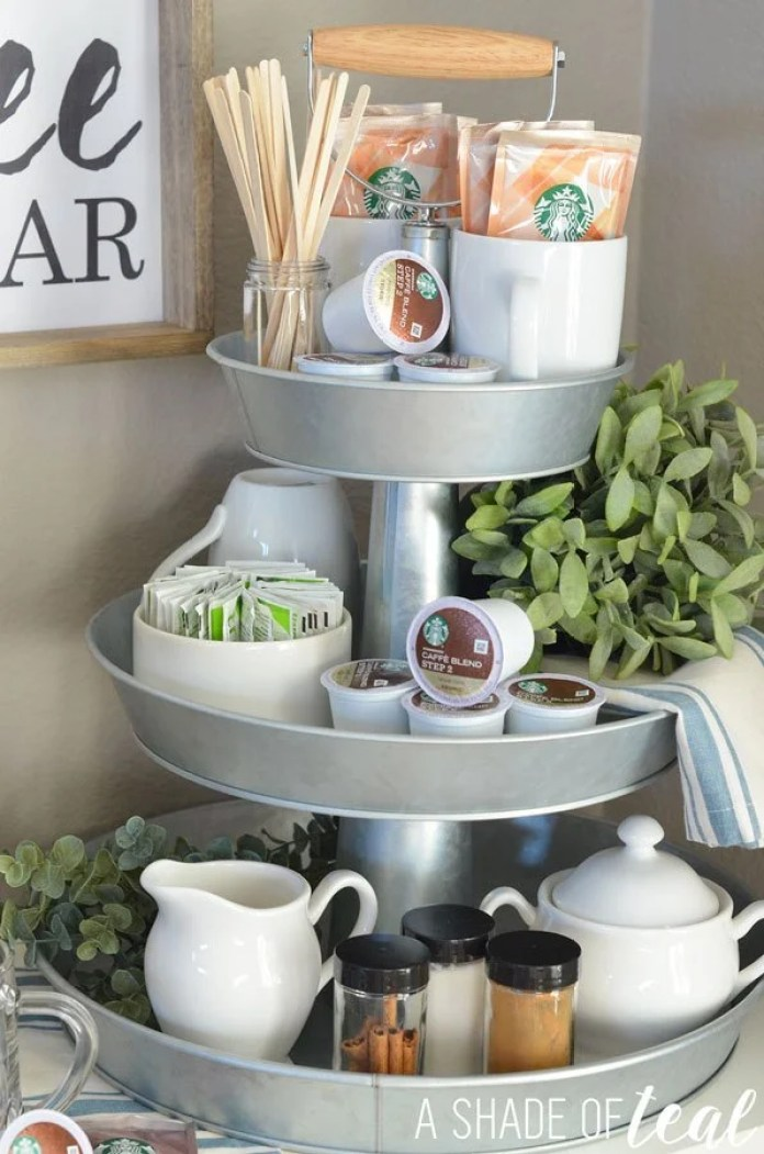 Three-Tier Coffee Bar