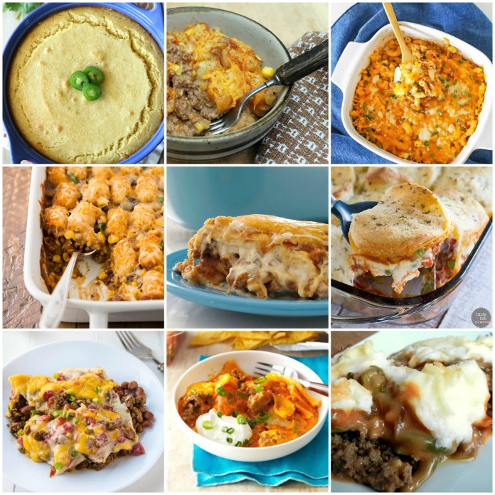 15 Beef Casserole Recipes