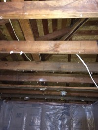 Removing Ceiling Joists Beam