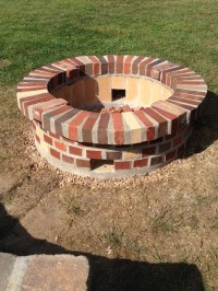 Need Advice: Fire Pit - Brick Work - Mortar Splitting ...