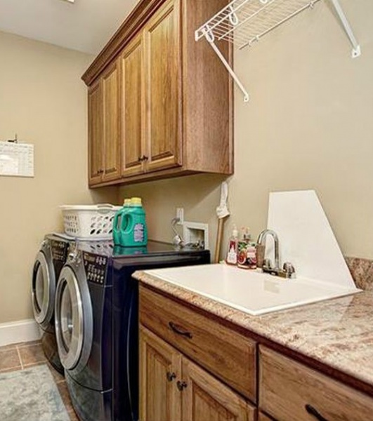 Countertop Over Front Load Washer Dryer Carpentry Diy