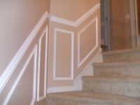 Installing Chair Rail Up Staircase? - Carpentry - DIY ...