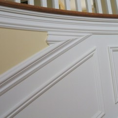 How To Put Chair Rail Molding Swivel Patio Chairs And Table Installing Up Staircase Carpentry Diy Chatroom Home 012 Jpg 014