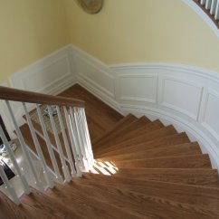 How To Put Chair Rail Molding Remy Side Installing Up Staircase Carpentry Diy Chatroom Home 077 1 Jpg