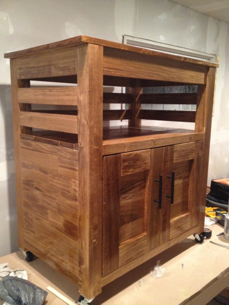 kitchen microwave cart stonewall com carpentry diy chatroom home improvement forum image 3291097437 jpg
