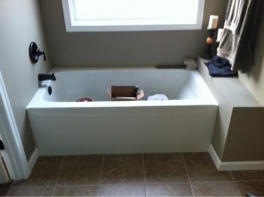 Apron Bathtub Framed For Tile Remodeling DIY Chatroom Home Improvement Forum